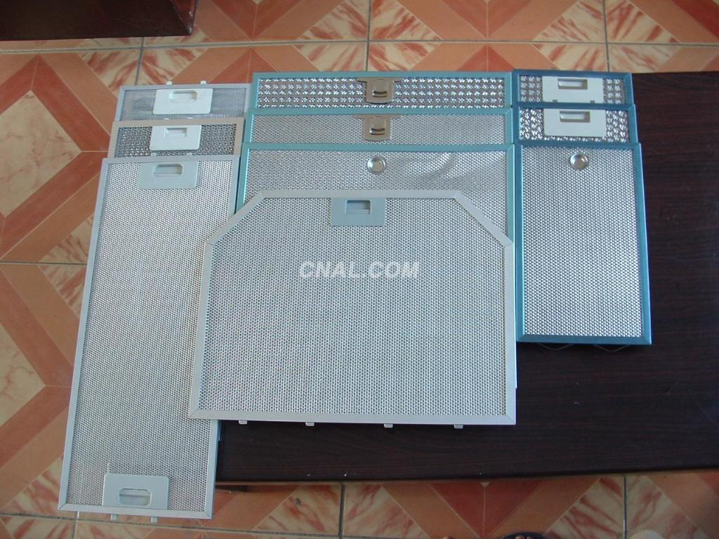 aluminium mesh exhaust fan filter