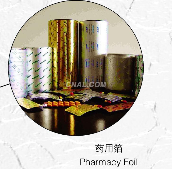 pharmacy foil