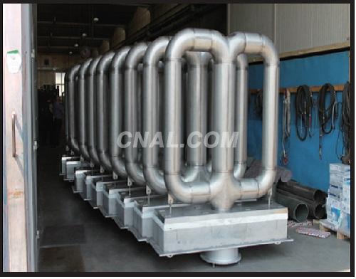 Double P Radiant Tube Heater