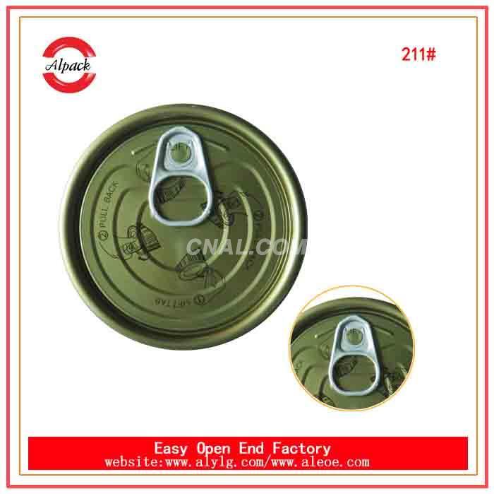 Macedonia 211# supply free samply type tin end cap