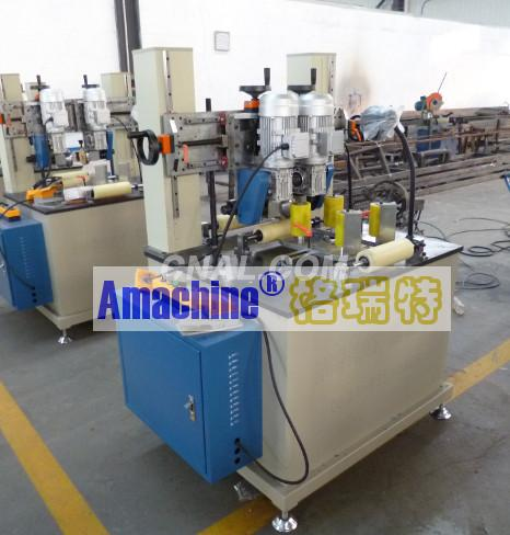 Knurling and Strip Feeding Machine
