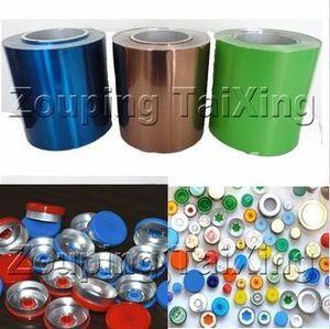 Coated Lacquer Aluminium Strip For Vial Seals / Flip Off Seals Manfacturer