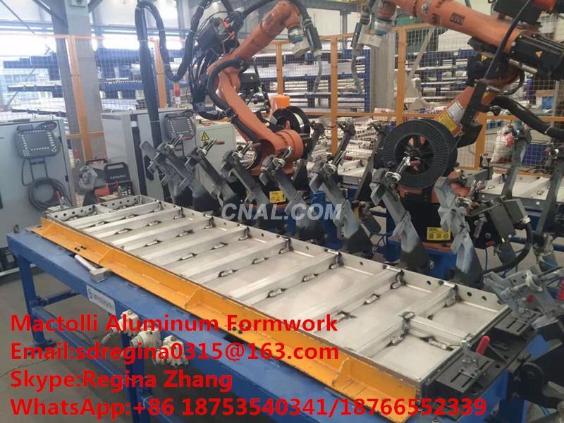 6061-T6 Aluminum Formwork for Building Construction
