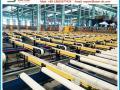 aluminium extrusion press profile handling equipment