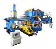 pressing machine for aluminium extrusion profile
