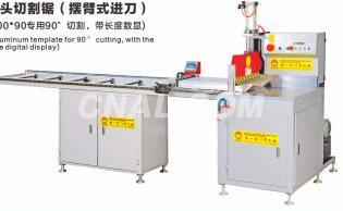 KE-128F 450 Heavy duty single head saw