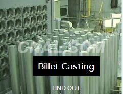 Aluminium Hot Top Billet Casting