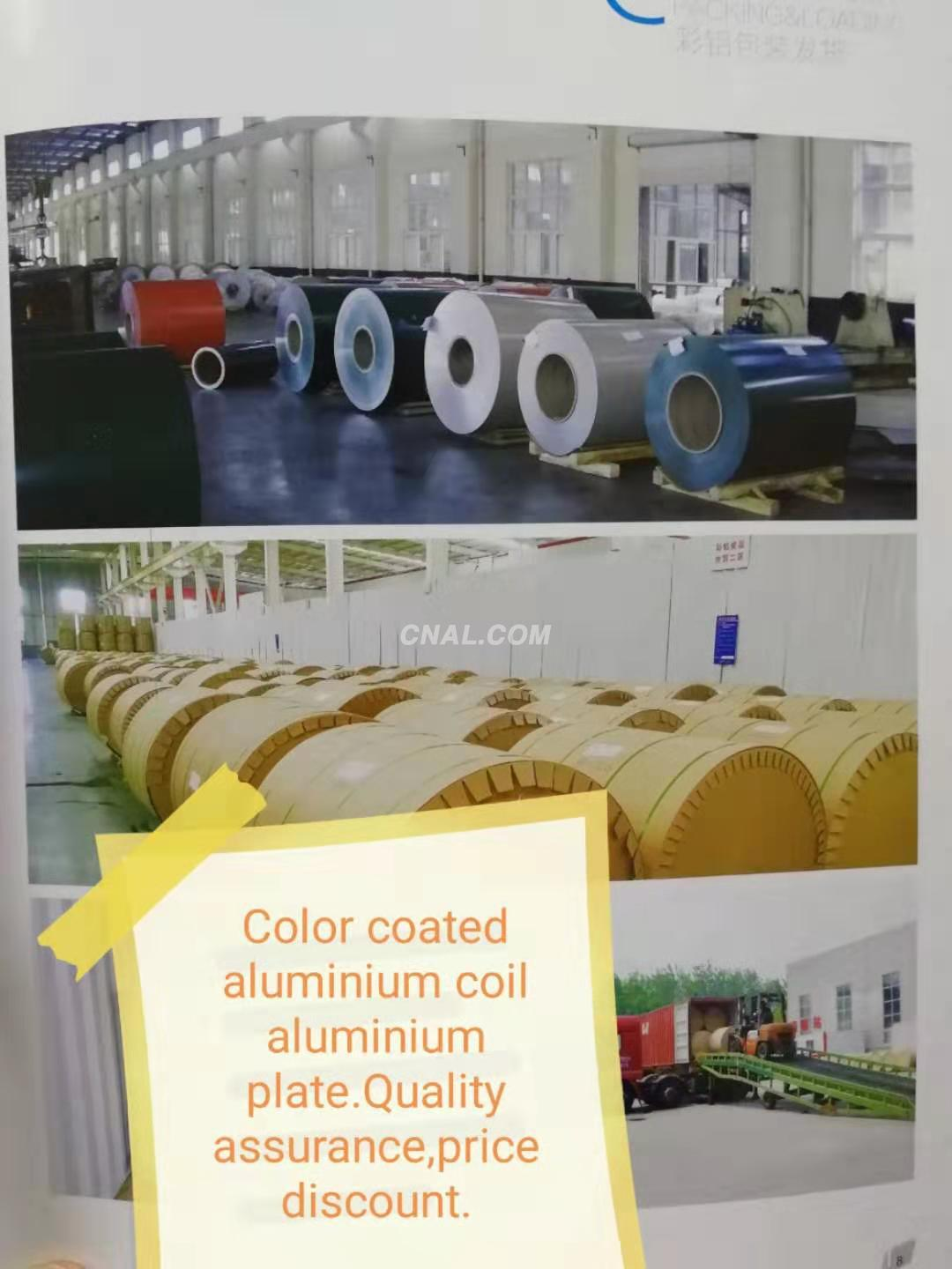 Color coated aluminium coil / foil /plate