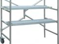 Aluminum scaffold