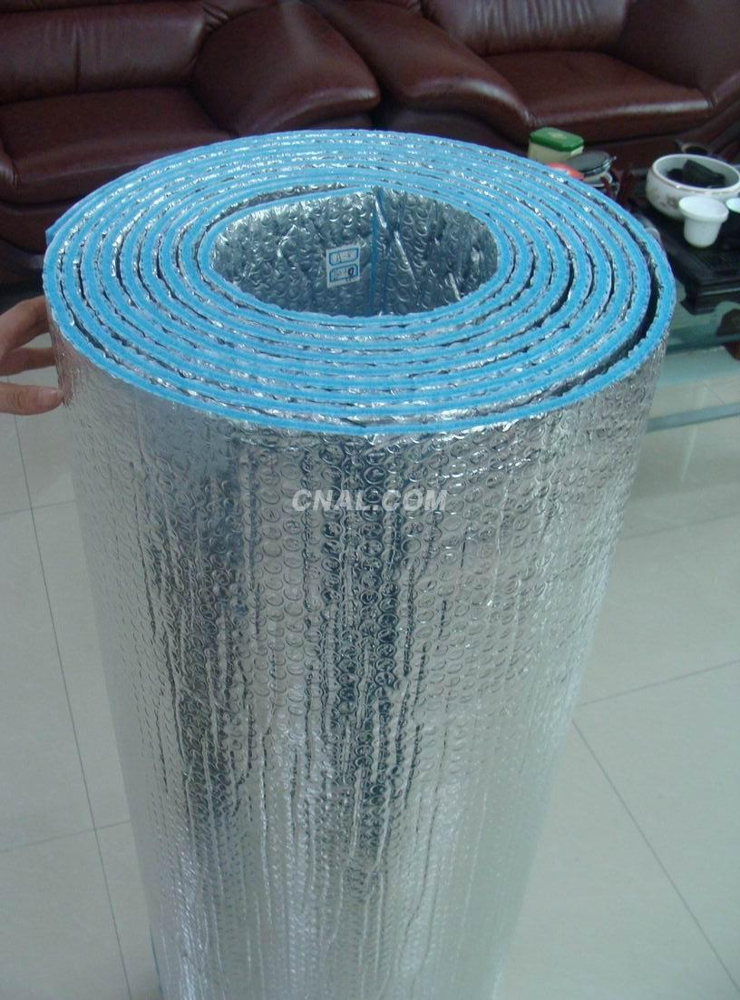 Anti-radiation bubble aluminum foil roof insulation