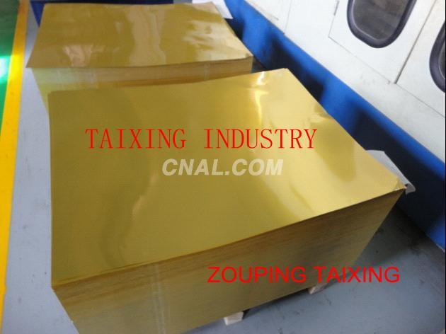 aluminium sheet for pilfer proof caps