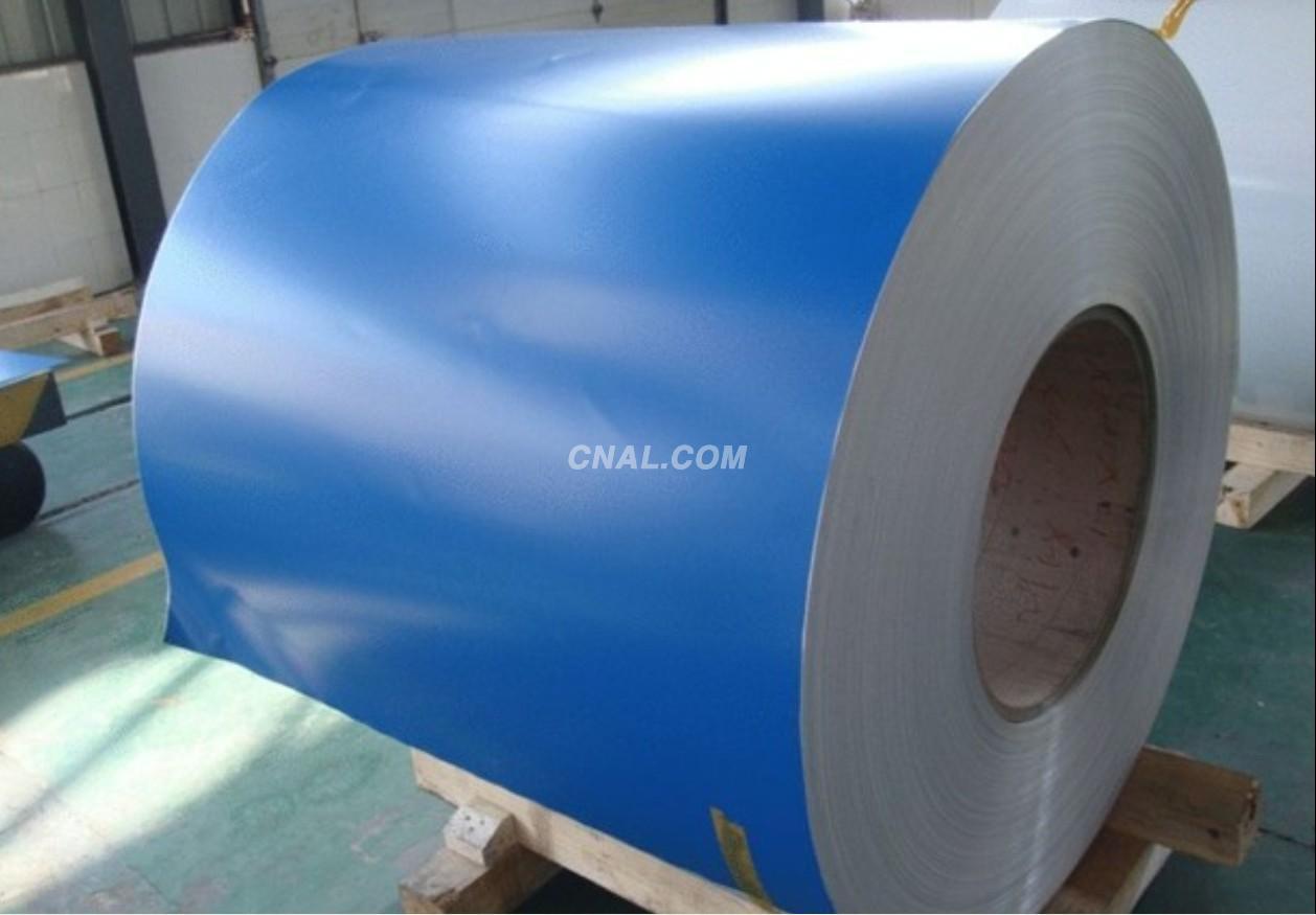 aluminium coated coil