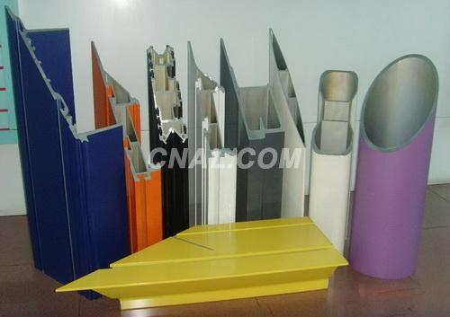 High Precision Aluminum Extrusion Profile For Buildings And Decoration