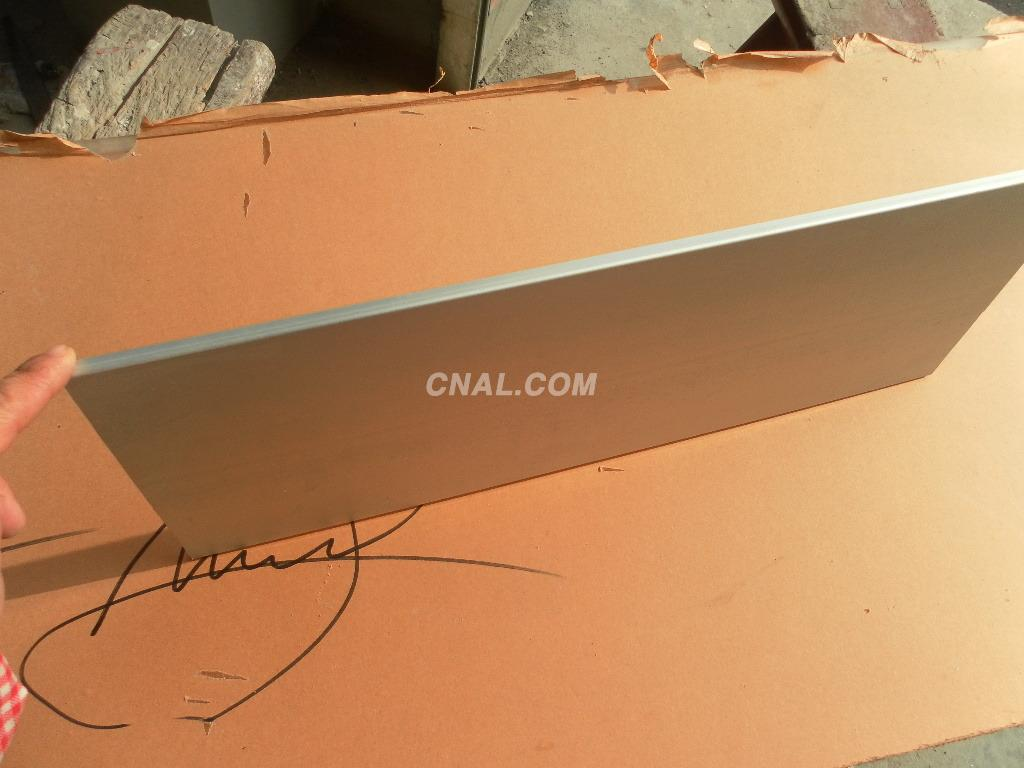 21cm aluminium profile sheet, aluminium alloy scutcheon materical.