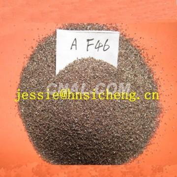 brown aluminum oxide grits #14-#220 mesh