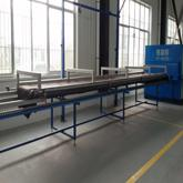 wood grain transfer machine/laminating machine for thermal break aluminum profile MWJ-01