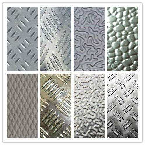 0.3-2mm Aluminum stucco Sheet (tread plate/ embossed sheet)