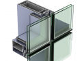 curtain wall aluminum profile