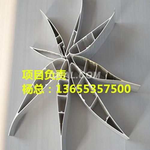 Cooling Fan Profiles Aluminum blades