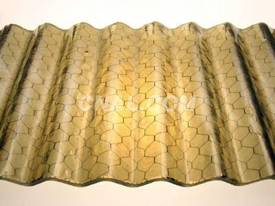 Corrugated or Flat Glass Used Chicken Wire Mesh