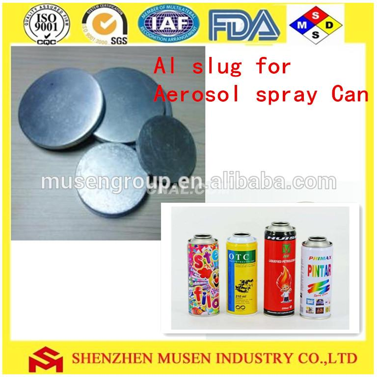 Factory supply aluminium slug Use for cosmetic tubes