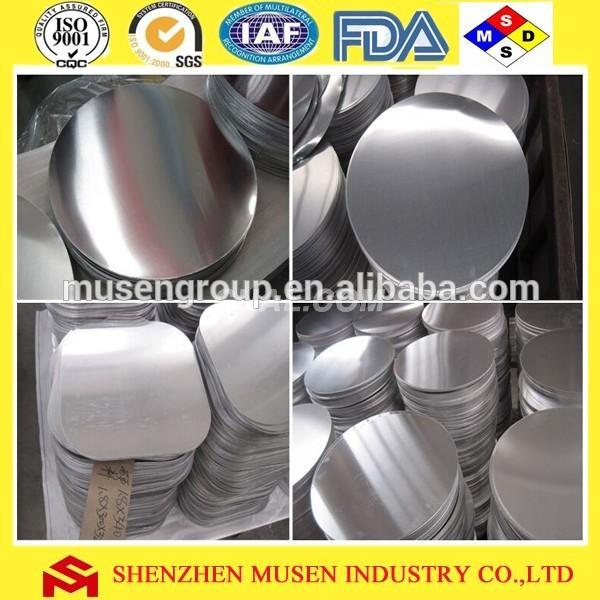 Aluminum Circle Sheet Alloy 1050 1060 1070 1100 for Pans and Cookware