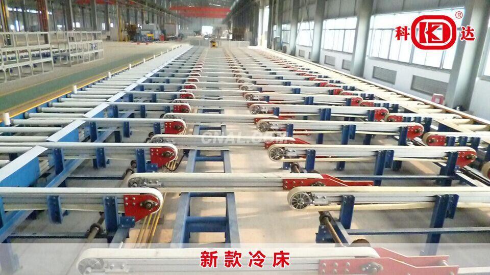 aluminium profile handling table system