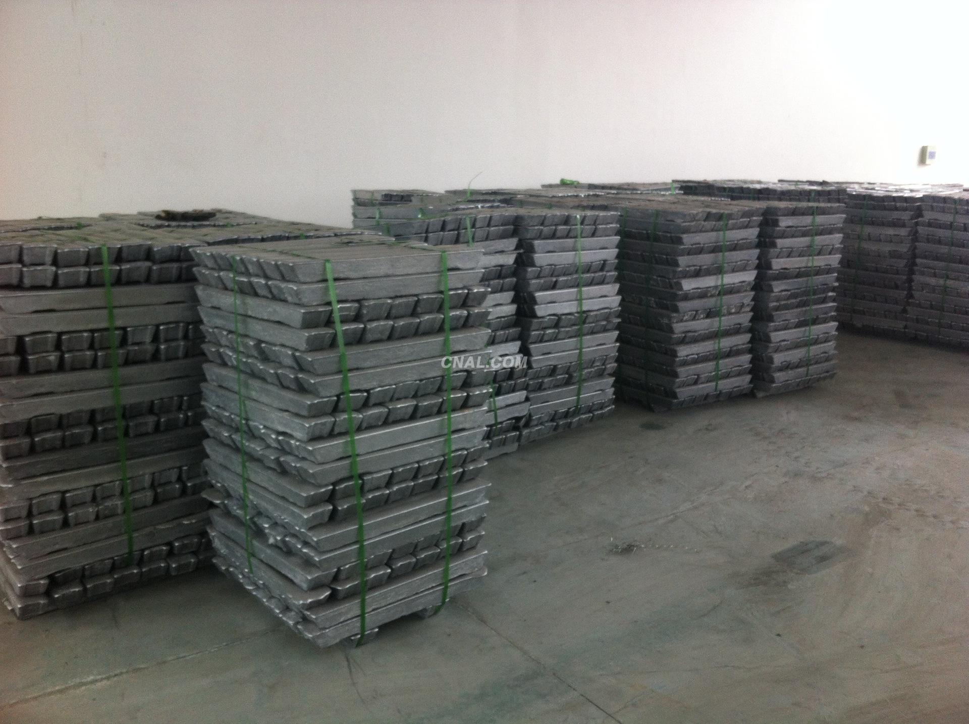 export aluminium ingot 99.7%